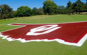 Jimmie Austin Golf Club at the University of Oklahoma Logo