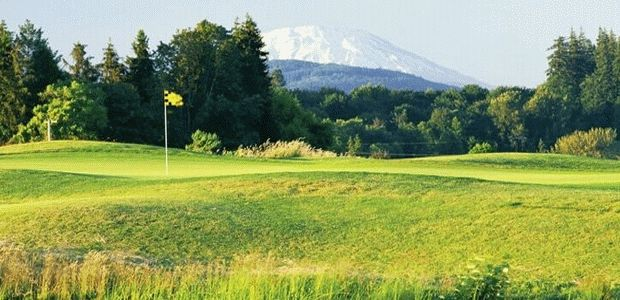 Tri-Mountain Golf Course Logo